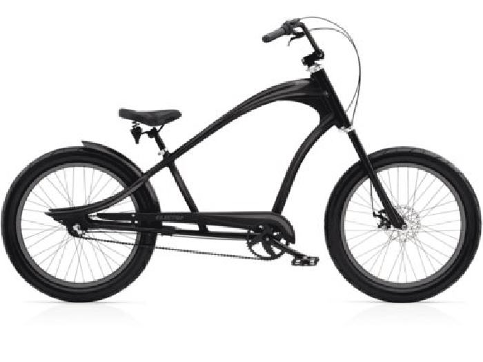 v lo beach cruiser electra revil 3i homme 24 matte black 2016 velo beach cruiser. Black Bedroom Furniture Sets. Home Design Ideas