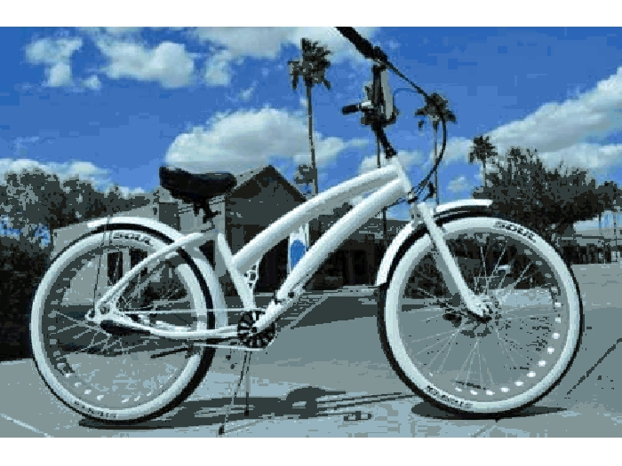 Femmes Soul Beach Cruiser UK Fat Pneu Blanc Stomper Américain Grand Bicycle Vélo
