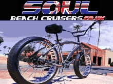 Soul Beach Cruiser UK Fat Pneu Brut Poli Stomper Américain Grand Vélo Bicyclette