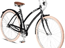 Johnny Loco Beach Cruiser Vienna Women 26 inch 2019 black frame size 54 cm