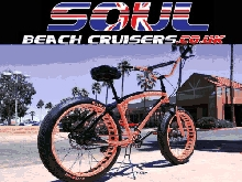 Soul Beach Cruiser UK Fat Pneu Jaune Équipe Stomper Américain Grand Bicycle Vélo