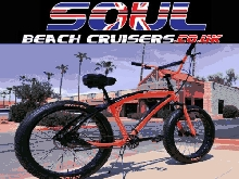 Soul Beach Cruiser UK Fat Pneu Orange Stomper Américain Grand Vélo Bicyclette