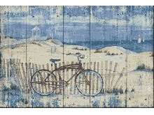 IMPRESSION-D'ART-sur-Papier-ou-Toile-Red-Beach-Cruiser-Brent-Côtier